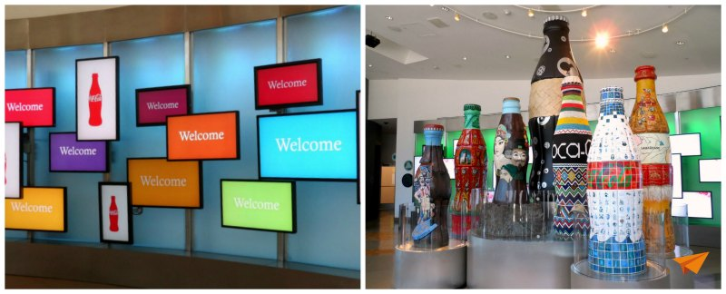 Visita ao World of Coca Cola Lobby