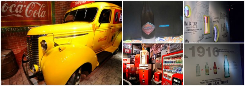 Visita ao World of Coca Cola Milestones of Refreshment