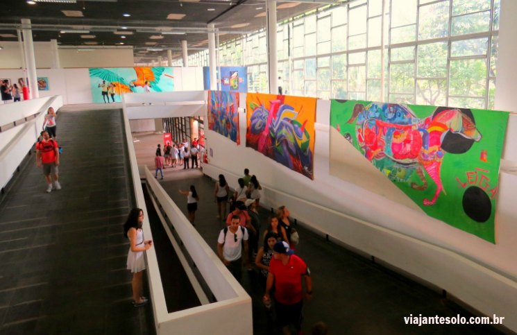 Bienal Grafitti Pavilhao das Culturas Brasileiras | Viajante Solo