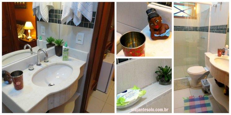 Pousada Casario Banheiro Paraty | Viajante Solo