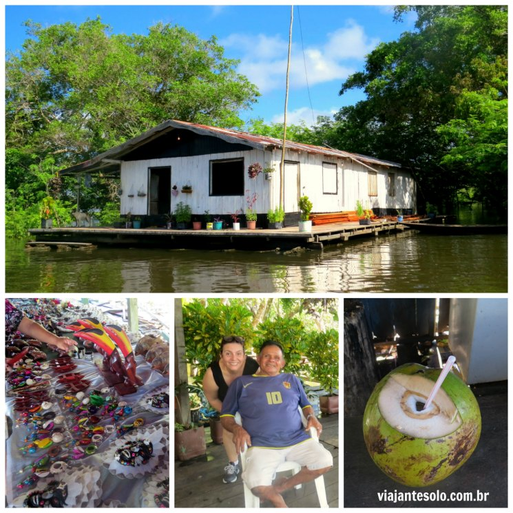 Pescar Pirarucu Manaus Colagem | Viajante Solo