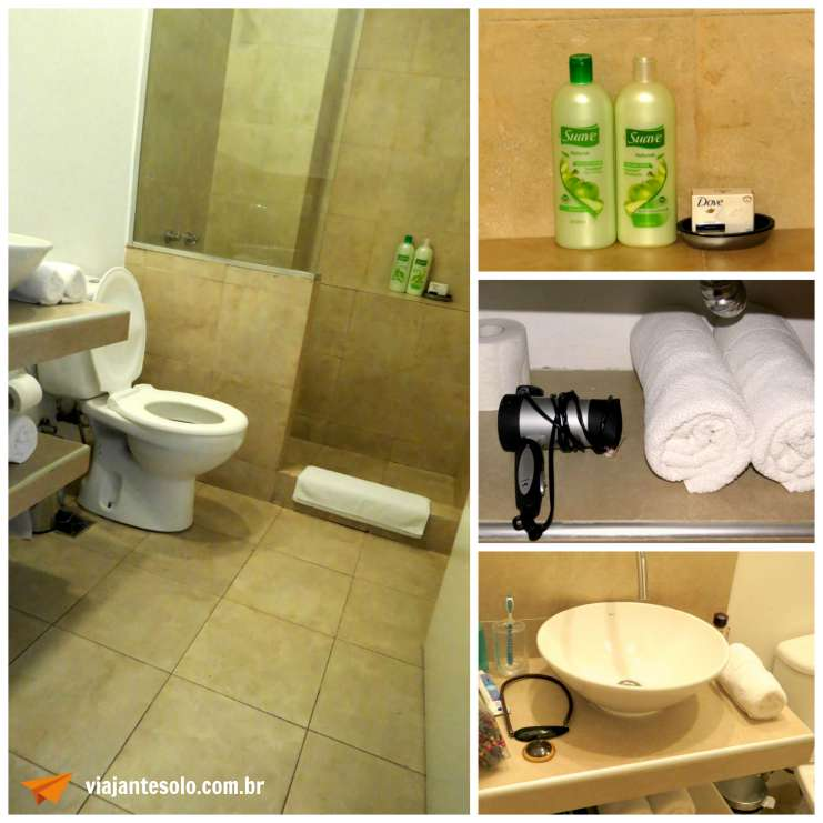 Querido Hotel Buenos Aires Banheiro | Viajante Solo