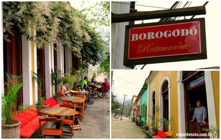 Borogodó Restaurante Parte Externa | Viajante Solo
