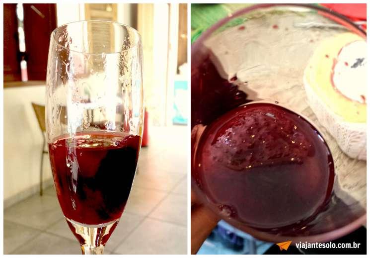 Morangos ao Vinho Tinto Dedo de Moça | Viajante Solo