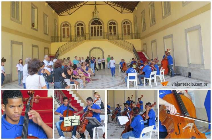Palacio Guanabara Concerto Patio Interno | Viajante Solo