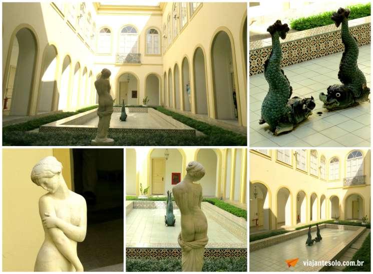 Palacio Guanabara Jardim Interno | Viajante Solo