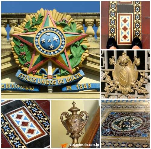 Palacio da Guanabara Detalhes | Viajante Solo