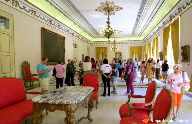 Palacio da Guanabara Salão Nobre | Viajante Solo