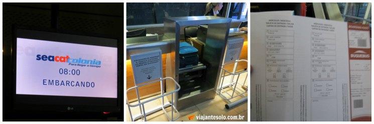 Buquebus Check in | Viajante Solo