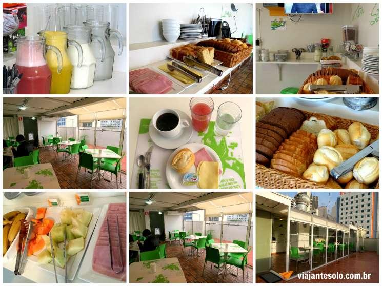 Che Lagarto Curitiba Cafe da Manha | Viajante Solo