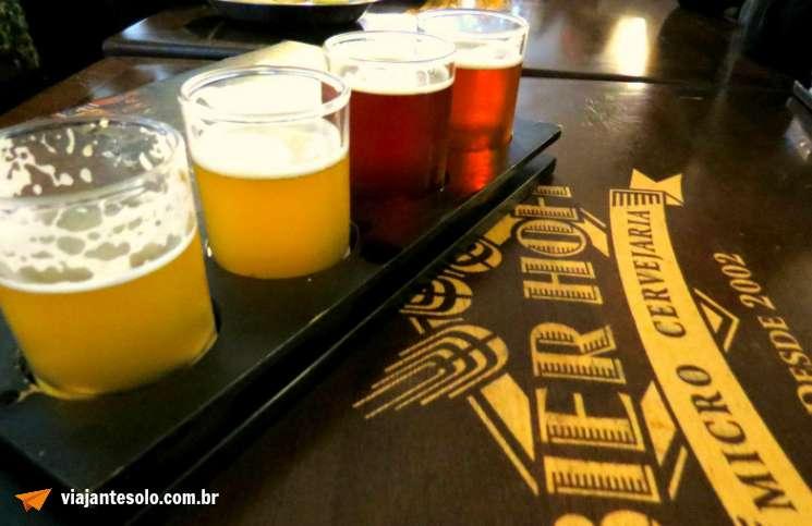 Curitiblogando Bier Hoff Tábua de Degustação | Viajante Solo