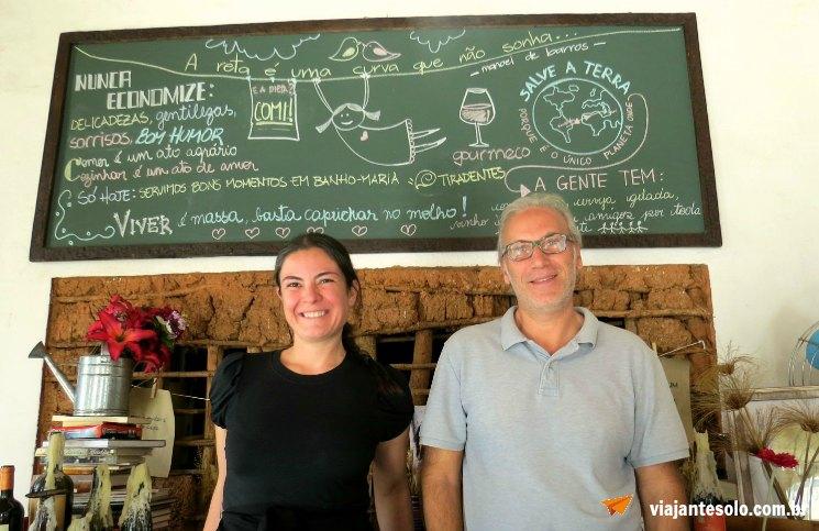 Gourmeco Tiradentes Umberto e Juliana | Viajante Solo