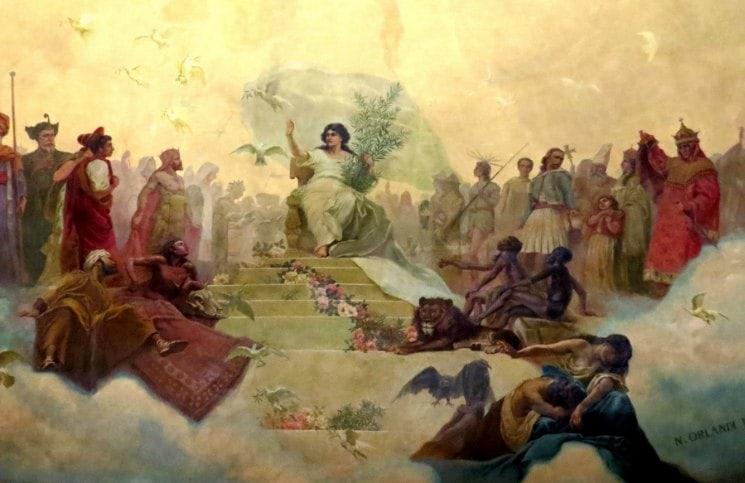 Livraria El Ateneo Pintura Cupula