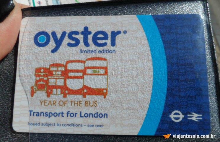 Londres kit básico Oyster | Viajante Solo