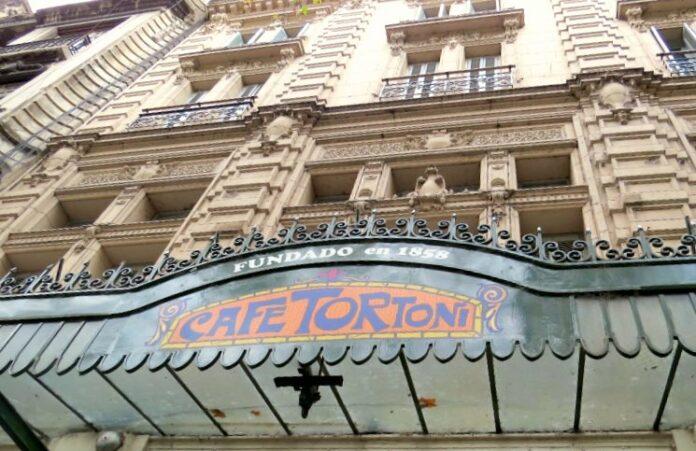 O que fazer Buenos Aires com Chuva Café Tortoni