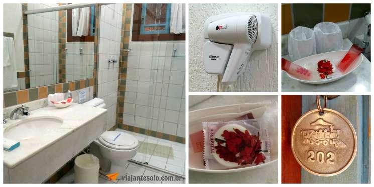 Pousada Rotunda Banheiro | Viajante Solo