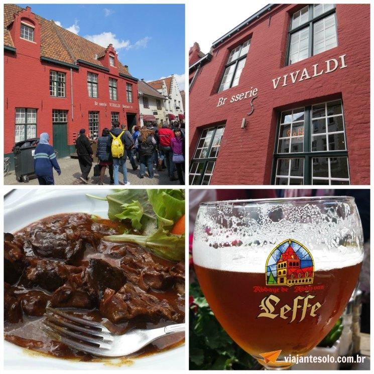 Bruges Brasserie Vivaldi | Viajante Solo