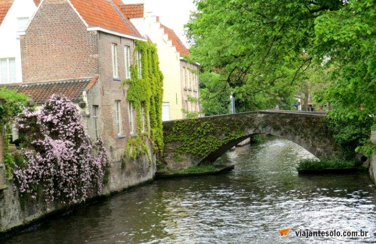 Bruges Canais | Viajante Solo