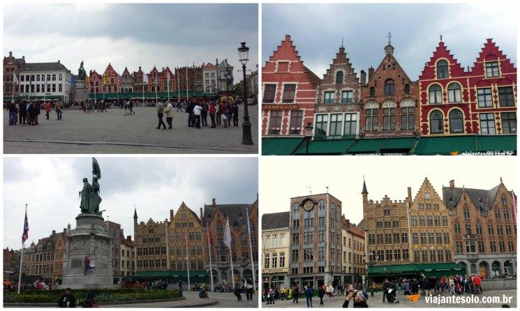 Bruges Grote Markt | Viajante Solo