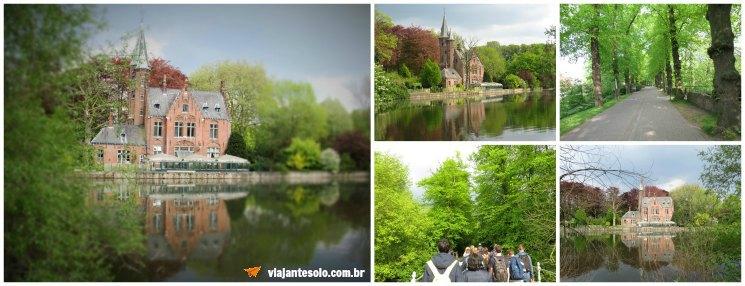 Bruges Lago do Amor | Viajante Solo