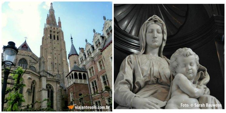 Bruges Madonna Michelangelo | Viajante Solo