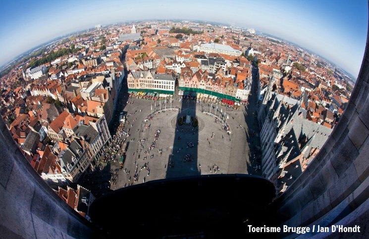 Bruges Vista Belfry | Viajante Solo