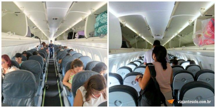 ATR 72 Cabine de Passageiros | Viajante Solo