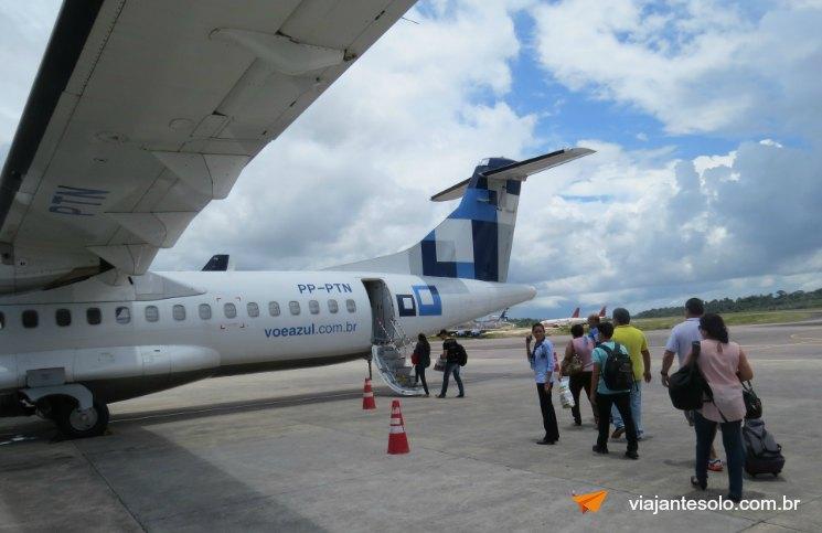 ATR 72 Entrada | Viajante Solo