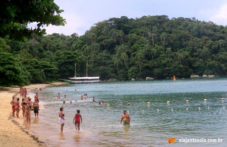 Ilha Grande Praia da Freguesia de Santana | Viajante Solo