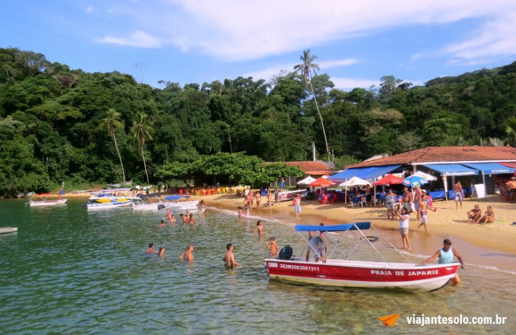 Ilha Grande Praia de Japariz | Viajante Solo