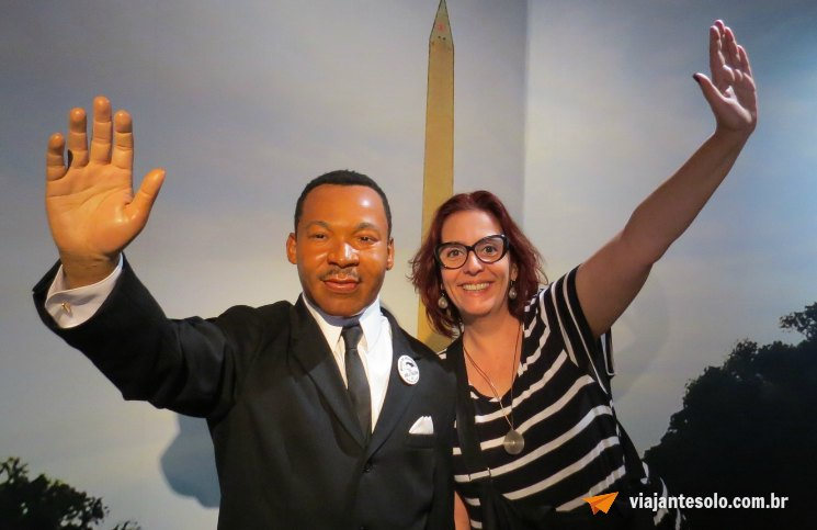 Madame Tussaud Martin Luther King