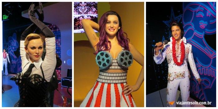 Madame Tussauds Astros da Musica | Viajante Solo