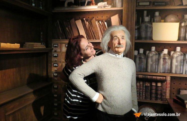 Madame Tussauds Einstein | Viajante Solo