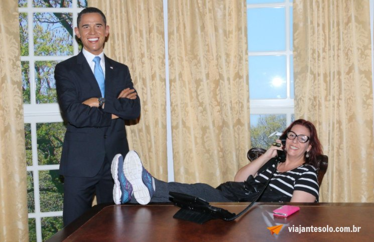 Madame Tussauds Obama   Viajante Solo