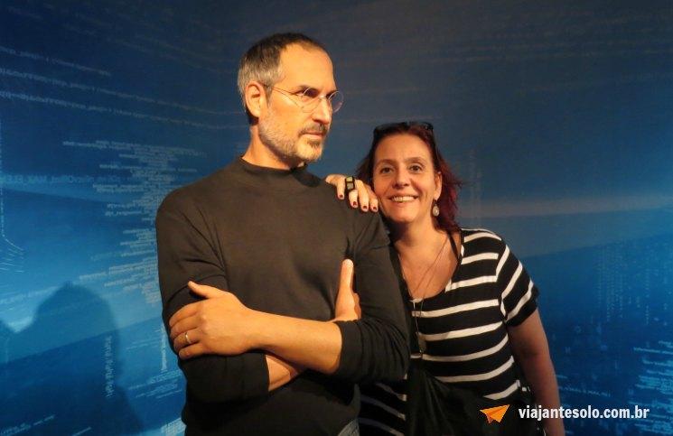 Madame Tussauds Steve Jobs | Viajante Solo