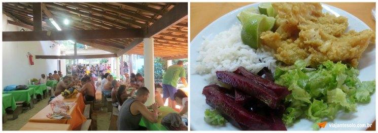Praia de Japariz Restaurante Mandala | Viajante Solo