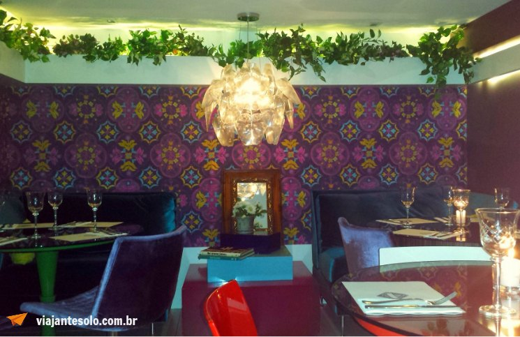 Restaurante Pot Pourri Ambiente Mesas | Viajante Solo
