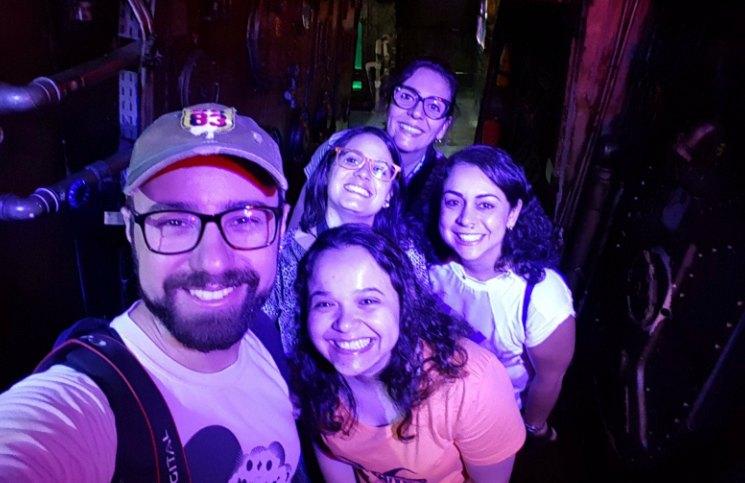 Blogs na Visita ao Aquario de Sao Paulo