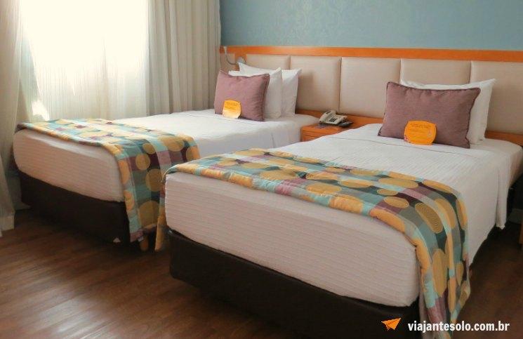 Comfort Suites Oscar Freire Quarto | Viajante Solo