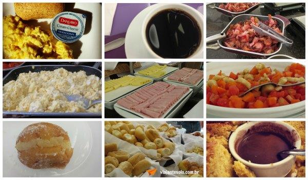 Comfort Suites Café da Manhã | Viajante Solo