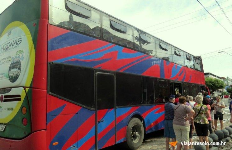Ônibus Turistico Amazon Bus Embarque | Viajante Solo