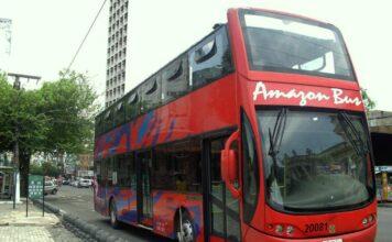 Conhecendo Manaus a bordo do ônibus turístico Amazon Bus   Viajante Solo