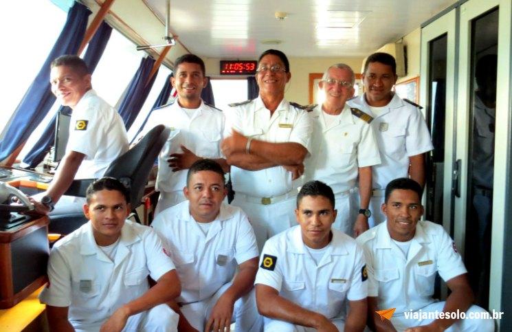 Cruzeiro Rio Negro Ponte de Comando Iberostar | Viajante Solo