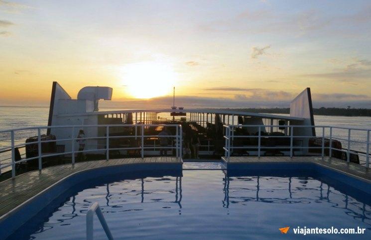 Cruzeiro pelo Rio Solimões Nascer do Sol | Viajante Solo