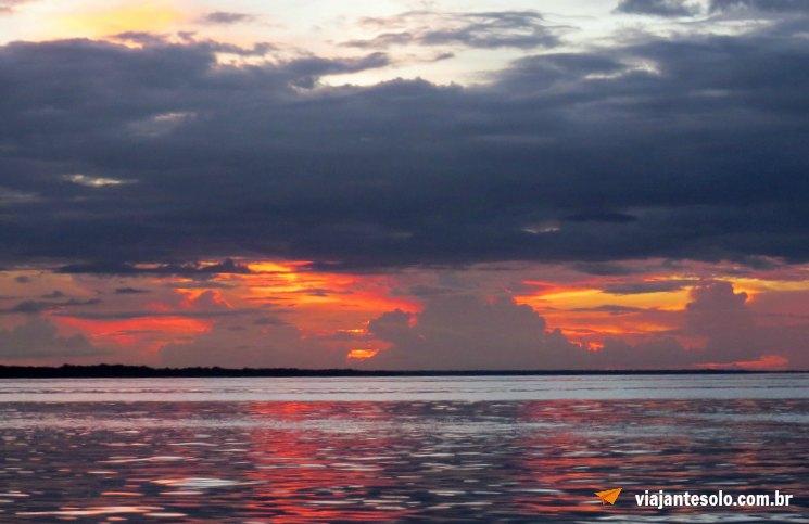 Final de Tarde Lago Ubim | Viajante Solo
