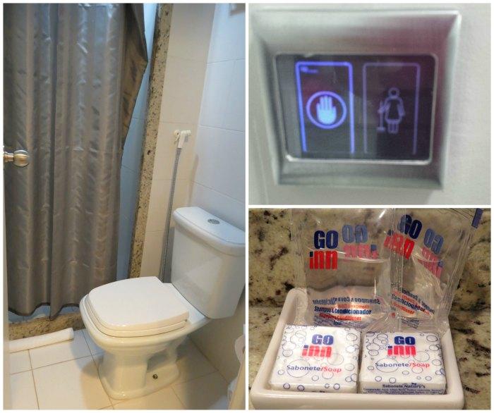 Go Inn Banheiro | Viajante Solo