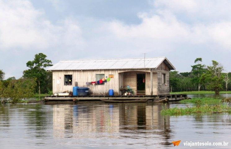Cruzeiro Solimões Lago Janauacá | Viajante Solo
