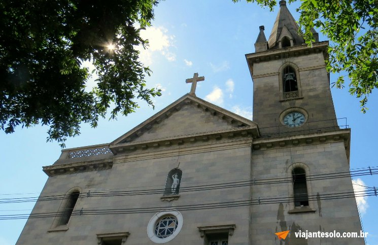 Manaus Igreja São Sebastião | Viajante Solo