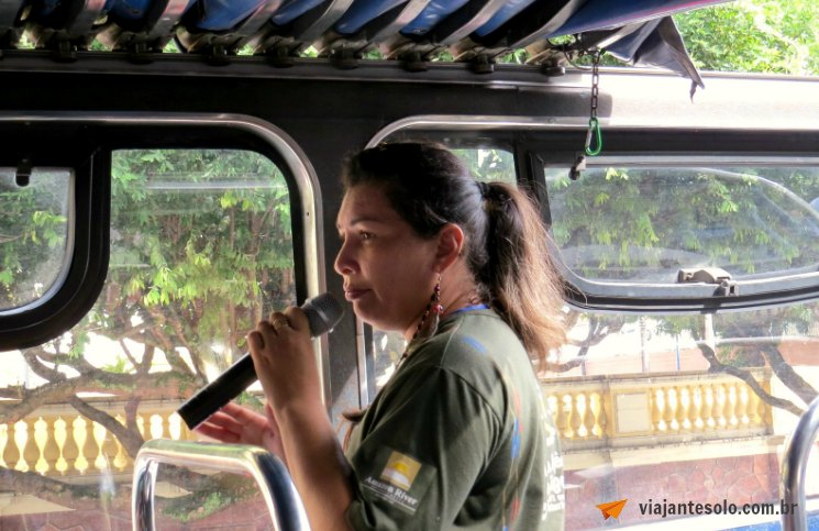Onibus Turistico Amazon Bus Guia | Viajante Solo