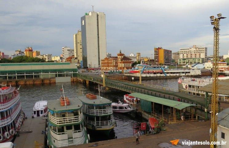 Porto de Manaus | Viajante Solo